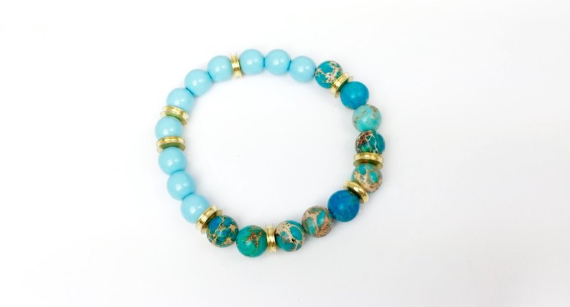 """Turkish stone x blue Beads"""