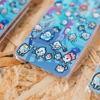 Riceman-Riceman city life Blue edition iphone case for iphone 6 iphone 6 plus