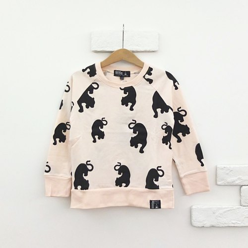 【Little Cocoa Bean】Organic Cotton Panther Shirt