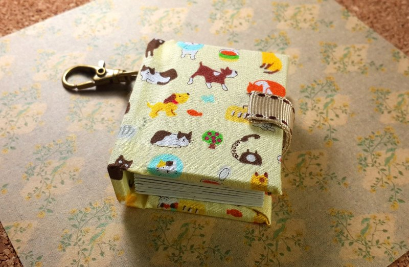 [Dog and cat big collection] mini small phase key ring 5cmX4.3cm - custom small things