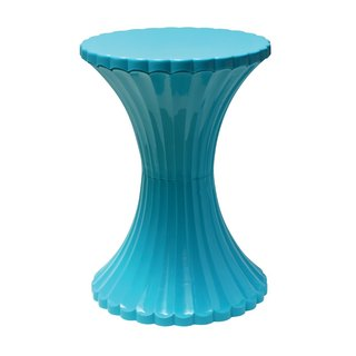 Talk about fruit ice room stool / Blue Stool