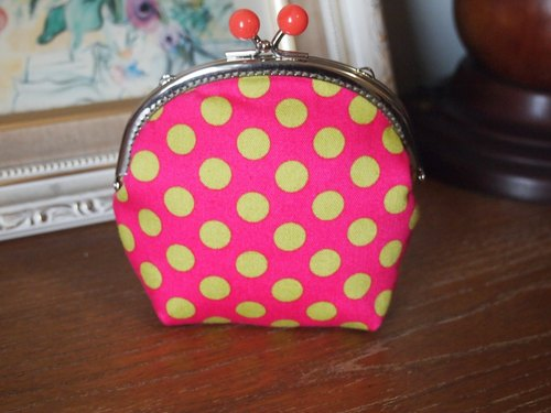 Little ladybug gold mouth bag