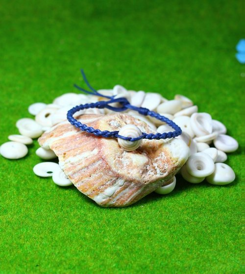 TvT / Cross braid PUKA foot ring