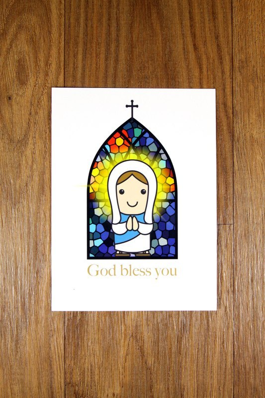 Hail Our Lady Postcards
