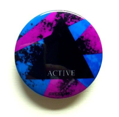 Shine.Mo triangular series badge -ACTIVE positive models