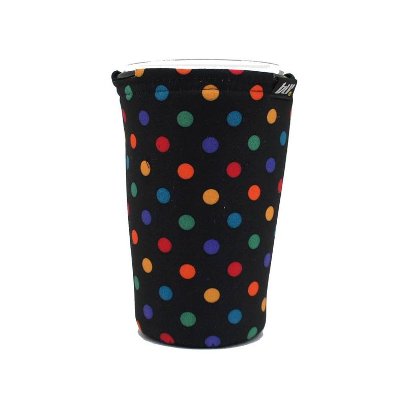 BLR Drink caddy for bicycle [ Color Dots Black ] WD84