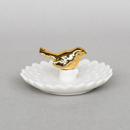 OOPSY Life - Gold Jewellery Robin plate - RJB