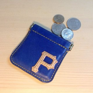 ISSIS - Customize your << Exclusive Letters>> Handmade Leather Coin Purse