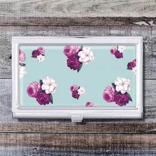 Flower Illustrator - Business Card Holder / Card Case / Office Worker Accessories [Special U Design]
