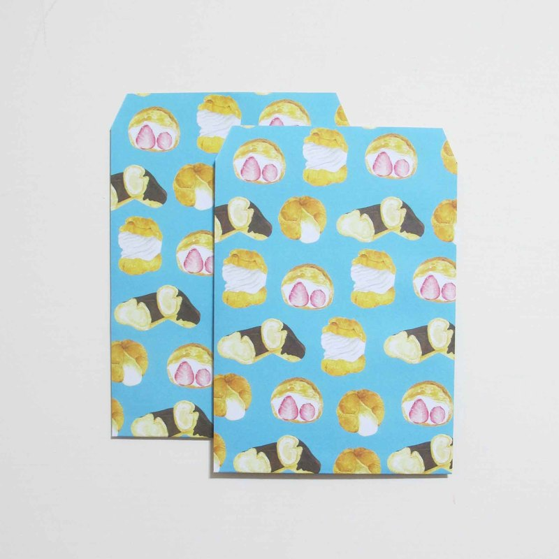panda grocery store bread pattern valentine bags can also be envelopes