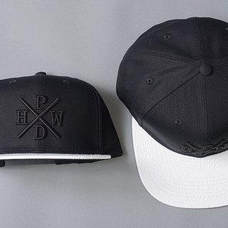 HWPD│ after white alligator buckle baseball cap SnapBack (refer to Kanye West / Supreme / Justin Bieber)