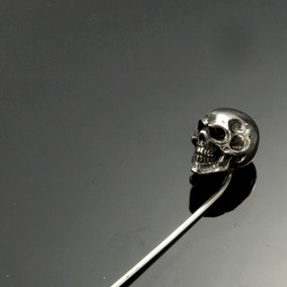 Skull M Type Pin | Simple skull pin M