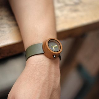 Lima Watch Pagi Teak Olive Green