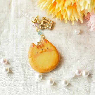 Sweet Dream ☆ meters goo small fat cat biscuits / phone dust plug
