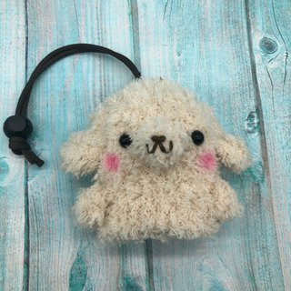 Marshmallow Animal Key Bag - Small Key Bag (Golden Retriever)