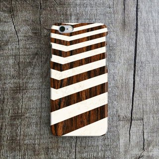 Wooden Wave, - Designer iPhone Case. Pattern iPhone Case. One Little Forest