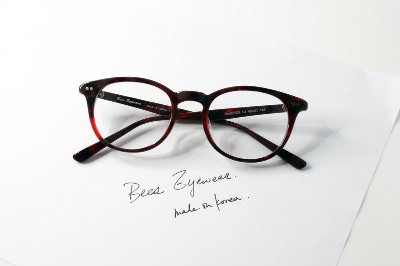 3bd58a9c1bcf Korea pear-shaped sheet of fine hand-made frame Handmade in Korea Boston  Shape eyeglasses frame eyewear A03C4 - Designer elements-eyewear   Pinkoi