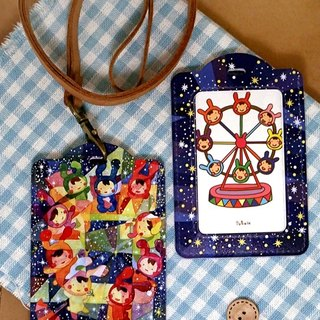 Illustration ID holder - Star