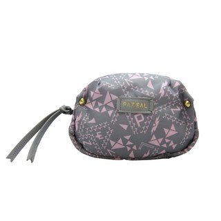 PAZEAL Puffy Cosmetic Portable makeup bag