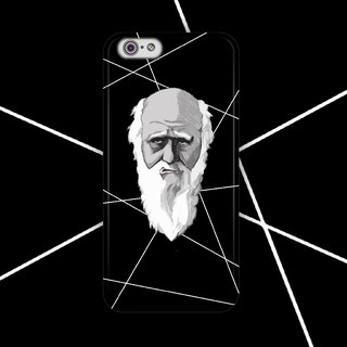 ▷ Umade ◀ Darwin Green. Three small [iPhone (i4s, i5s, i5c, i6, i6s, i6plus, i6splus) / Android (Samsung, Samsung, HTC, Sony) Phone Case / Accessories - matte hard shell - H Stuff Room artists]