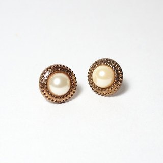 Circle dot gold 徘徊 stainless steel earrings ear clip ear clip earrings 311