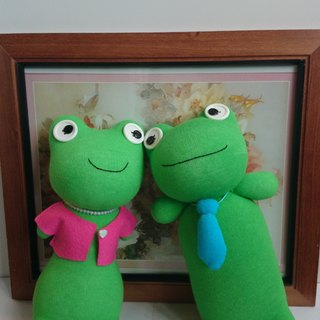 Short leg frog family frog dad & frog mother (one pair) doll socks doll frog
