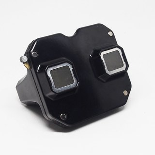 60--70 years Viewmaster 3D three-dimensional view of black stand-alone machine