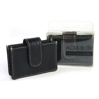 [CARD] ACS5-BK Top Leather Case (Black)