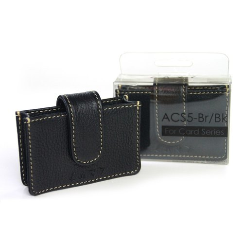 [CARD] ACS5-BK Premium Leather Case (Black)