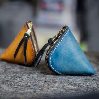 Leather handmade leather purse dumplings modeling (active type)