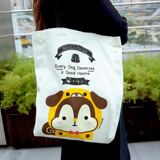 Squly Canvas Tote Bag (SPCA Special Edition - Dog) - E021SQB
