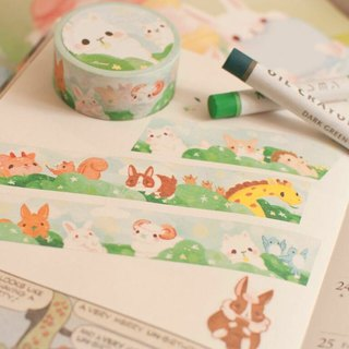 Spring time Bunny * Masking tape