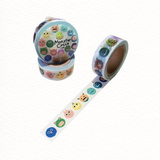 Hair clumps sweet candy paper tape _Monster Circle