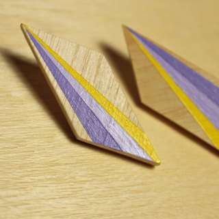 Wooden Earrings No.38
