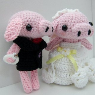 Piglets. Wedding Doll (customized part of your wedding doll)