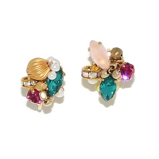 [Luce Costante] Petit earrings / LC-1596 B (needle / ear button)