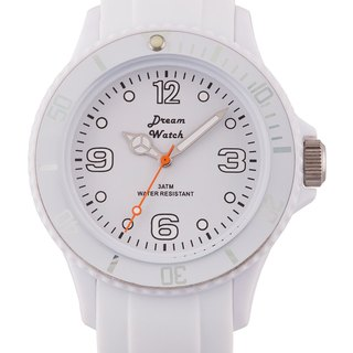 Dream Watch - Fashion quartz watch, men and women wear with popular pieces / best holiday gifts (white)