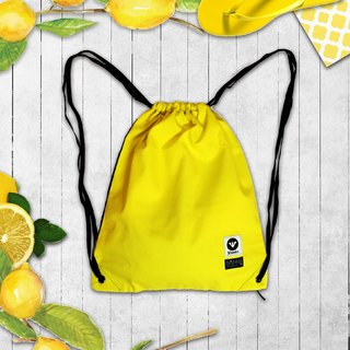 [Fresh Lemon!] Bright lemon yellow canvas tote Wonder Hand