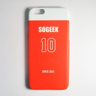 SO GEEK phone shell design brand THE JERSEY GEEK jersey back number Customized paragraph 049