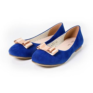 """Baby Day"" elegant cute little sweetheart / adult models sapphire blue cute princess doll shoes shoes shoes parent-child shoes"