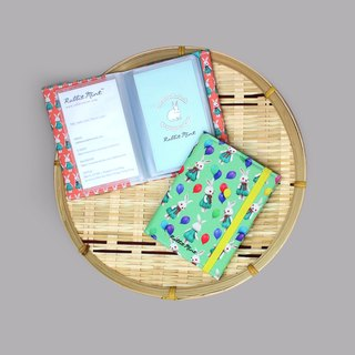 (Rabbit Mint) Mint rabbit Binder card holder - (NCH0001)