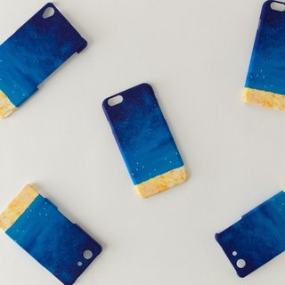 "Orders production] iPhone / Galaxy / Xperia Case ""of deep blue, sky."""