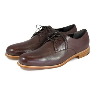 Larch M1125 Brown  leather Derby shoes