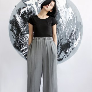 Discount chiffon light gray trousers wide