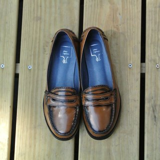 Painted # 927 # Loafers Lazy Hampton Vacations Without a Boyfriend / Coffee with Gold