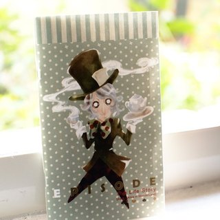 ZoeL * pocket notebook * MadHatter mad hatter * Homemade Alice Alice illustration