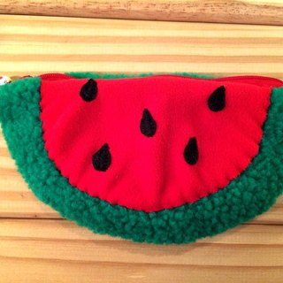 RABBIT LULU red watermelon Pencil Pouch