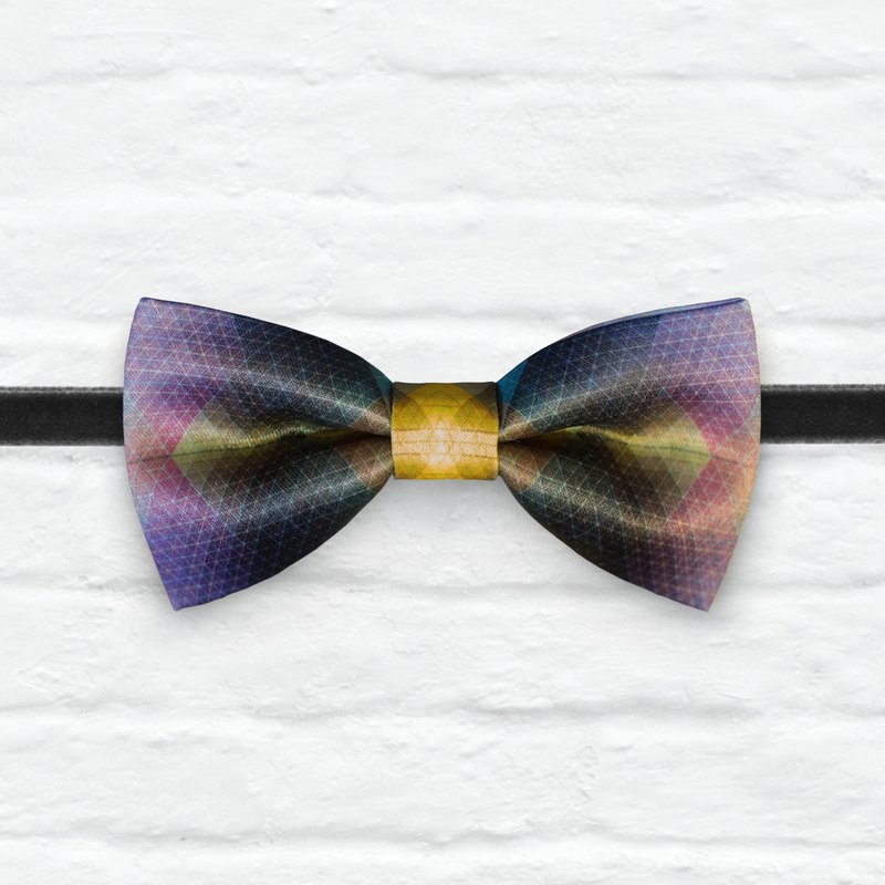 Style 0007  Bowtie - Modern Boys Bowtie, Toddler Bowtie Toddler Bow tie, Groomsmen bow tie, Pre Tied and Adjustable Novioshk