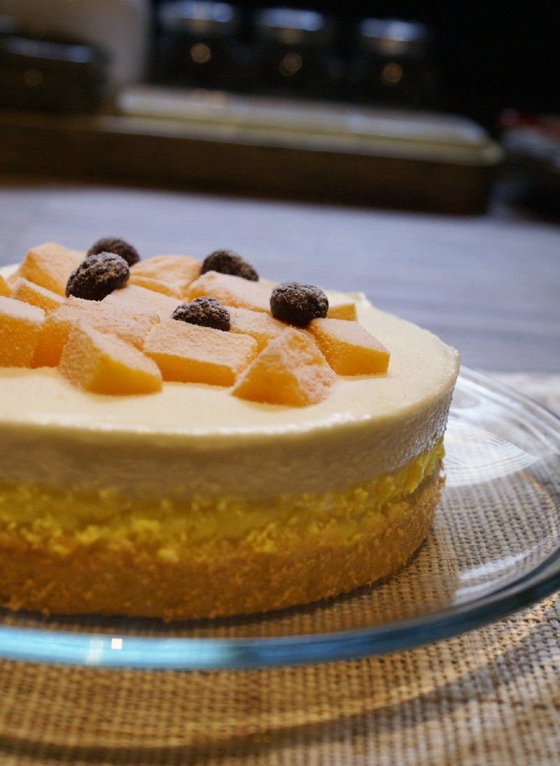 [Cheese&Chocolate.] Sen Cheesecake - Golden Mango (raw cheese) / 6吋