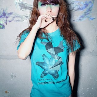 COMFORTABLY NUMB / T-Shirt (turquoise)